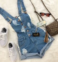 for more stunning styles💖 Cute Summer Outfits, Outfits For Teens, Trendy Outfits, Cool Outfits, Teen Fashion, Love Fashion, Fashion Outfits, Gucci Tshirt, Tumblr Outfits