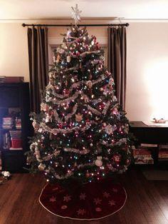 Pin af Jonna Jensen på Pyntet juletræ   Christmas Tree ...