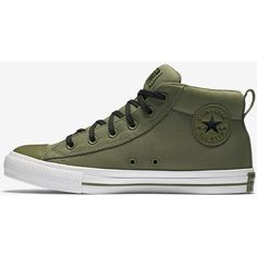 f1e7db5fffd77f Converse Chuck Taylor All Star Street Mid Top Unisex Shoe. Nike.com ( 65) ❤  liked on Polyvore featuring shoes