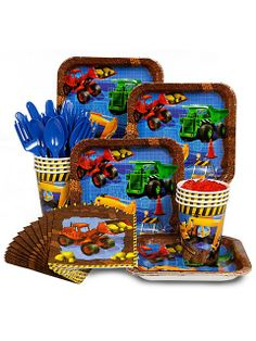 Construction Party Standard Kit -Construction Party Supplies