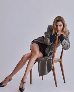The Chair Pose - Using a chair in your model posing can enrich your portfolio.