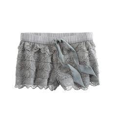 Slab Grey: Aerie Lacey Sleep Short