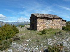 Ermita San Aventi (11th century), Bonansa. Ribagorza, Spain