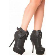 Botines Black Style Z040