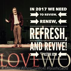 Join us at Cliffdale this morning for our 10:30AM located at 6427 Cliffdale Rd as we continue in 2017 Reviewing, Renewing, Refreshing, and Reviving!  #CliffdaleAlive #WhereLoveWorks #RaisetheSword