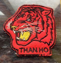 Vintage Vietnam War Tiger Patch Than Ho by HeartOfDarknessNYC, $13.00