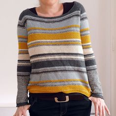 Modification Monday: Mouton Mix Sweater | knittedbliss.com