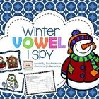 Included are 5 winter themed I SPY boards, along with a recording page.  Children use magnifying glasses to find 10 words hidden in each board and ...