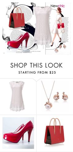 """Newchic 19"" by dinka1-749 ❤ liked on Polyvore featuring Christian Louboutin and Dolce Vita"