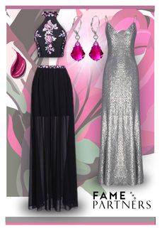 """""""Hello Homecoming with Fame & Partners: Contest Entry"""" by patricia-dimmick on Polyvore featuring Trilogy, Fame & Partners and famebabe"""