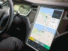 Tesla Interface Concept in Action by Bureau Oberhaeuser
