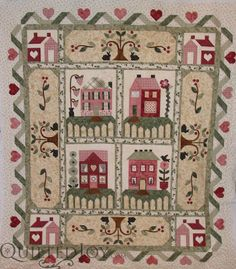 Judy's Heart and Home Quilt -Spectacular! - Quilted Joy