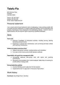 Pin by fiona tomlinson on nz cvs cover letters pinterest template nz resume tips yelopaper Images