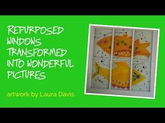 Laura Davis is an artist that knows how to make the best out of waste. Well folks like Laura don't call it waste. Instead it's the raw materials that others have left her to do amazing things. She's always felt compelled to work with old, salvaged and reclaimed materials to make her craft and art.