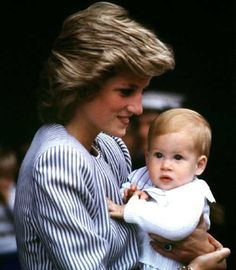 Diana and baby Harry
