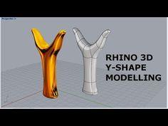 Rhino 3D - Y Shape modelling