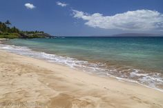 White Rock Beach, Makena, Maui. Photo by Blue Maui Photographers.