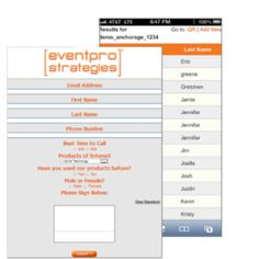 EPS is the first event staffing agency to adapt mobile technology specifically for the event marketing industry.
