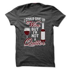 I'm Not A QUITTER T-Shirts, Hoodies. ADD TO CART ==► https://www.sunfrog.com/Drinking/IM-NOT-A-QUITTER.html?id=41382