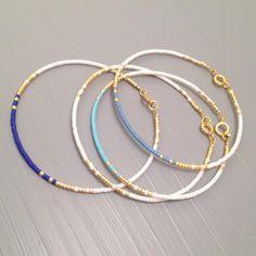 Everyday bracelet tiny gold bracelet gold bead bracelet Every day Jewelry by ToccoDiLustro on Etsy https://www.etsy.com/listing/254209037/everyday-bracelet-tiny-gold-bracelet