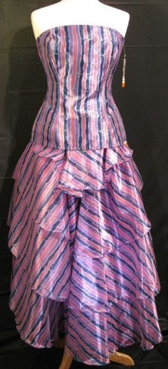 Very rare 1980s Cristina and Jan Barboglio 2 Piece Evening/Prom Dress Size 8 New With Tags by GoodBuyForNow on Etsy