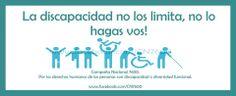 La discapacidad no los limita www.facebook.com/CN7600