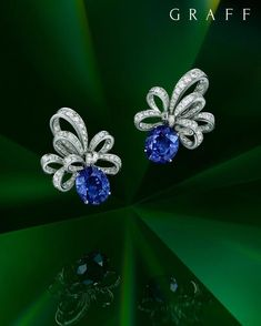 Pink Diamond Jewelry - rare and expensive, how much do they cost? Graff Jewelry, Bow Jewelry, Sapphire Jewelry, Sapphire Earrings, Diamond Jewelry, Jewelry Gifts, Diamond Earrings, Fine Jewelry, Jewelry Design