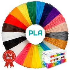 Finger Stalls DIY Adul Drawing etc Paper Model and 200 Stencils Ebook for Kids TIPEYE 3D Pen with 18 Colors 10 Feet Each Total 180 Feet PLA Filament Refills 2019 Newest Version Doodling Artist
