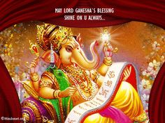 Discover & share this Ganesh Chaturthi GIF with everyone you know. GIPHY is how you search, share, discover, and create GIFs. Ganesh Chaturthi Photos, Ganesh Chaturthi Greetings, Happy Ganesh Chaturthi Images, Ganesh Images, Ganesha Pictures, Ganesh Photo, Baba Image, Alphabet Images, Shiva Art