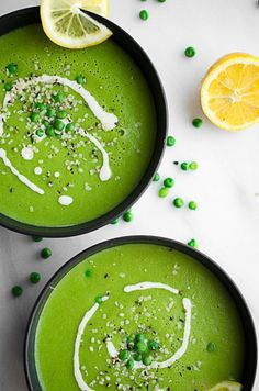 Rise Shine Cook - 5 Ingredient Healthy Vegan Green Pea Soup