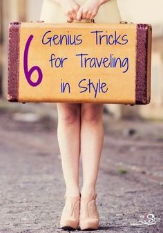 I never knew this! Genius style tricks for traveling to avoid the frump look  http://thestir.cafemom.com/beauty_style/163532/6_genius_tips_for_traveling?utm_medium=sm&utm_source=pinterest&utm_content=thestir