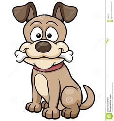 different fat dogs cartoon mascot characters vector collection
