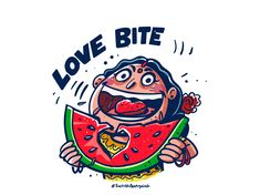 Love Bite designed by satish gangaiah. Connect with them on Dribbble; the global community for designers and creative professionals. Indian Illustration, Funny Illustration, Illustrations, Love Bites, Snapchat Stickers, Retro Radios, India Art, Tee Shirt Designs, Indian Paintings
