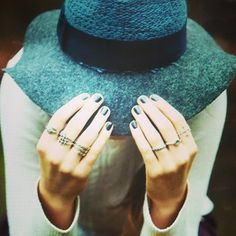 Rings on rings...follow us on Instagram @newlilydesigns