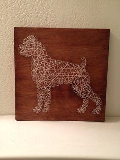 boxer string art