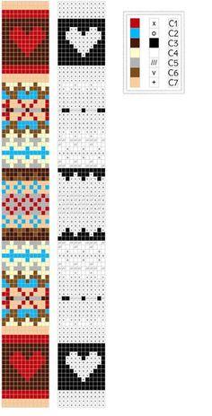 Fairisle knitting patterns charts are those charts as the guidance to create the knitting piece with the Fair Isle idea. Fair Isle has many demands no. Knitted Mittens Pattern, Fair Isle Knitting Patterns, Knitting Charts, Loom Patterns, Knit Mittens, Motif Fair Isle, Fair Isle Chart, Fair Isle Pattern, Fair Isles