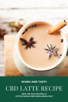 Stay warm during the holidays with this CBD latte recipe! Visit CBD to Wellness for this warm and tasty drink. Tea Recipes, Cooking Recipes, Hemp Recipe, Plant Based Snacks, Latte Recipe, Healthy Cookies, Veggie Dishes, Stay Warm, No Cook Meals