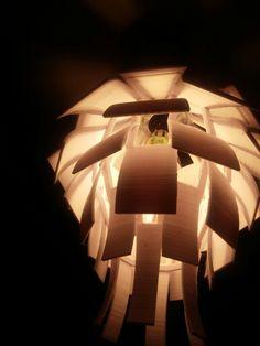 3d printed Artichoke lampshade