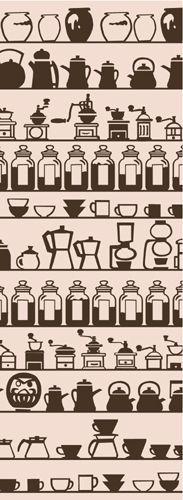 群馬 大和屋オリジナル手ぬぐい Japanese Textiles, Japanese Patterns, Japanese Fabric, Japanese Prints, Japanese Art, Coffee Illustration, Pattern Illustration, Textures Patterns, Color Patterns