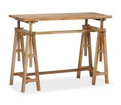 Handla vidaXL Ritbord massivt mangoträ 116x50x76 cm | vidaXL.se Office Furniture, Furniture Design, Study Desk, Office Seating, Indoor Air Quality, Wood Species, Types Of Wood, Drafting Desk, Solid Wood