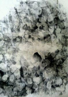 Erin Hegg   Untitled, 2011   graphite charcoal wash