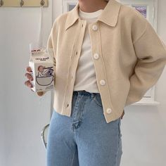 Image discovered by 𝐣𝐨𝐚 ღ. Find images and videos about girl, fashion and style on We Heart It - the app to get lost in what you love. Korean Aesthetic, Beige Aesthetic, Aesthetic Fashion, Aesthetic Clothes, 90s Fashion, Korean Fashion, Fashion Outfits, Fashion Tips, Fashion Quiz