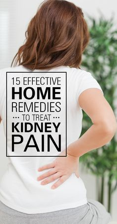 Not many of us know that persistent back pain is a possible symptom of kidney stones, infection or other kidney problems. Back pain due to ... #Health