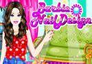 Diseño de uñas Barbie. El cuidado de las uñas de Barbie para mejorar su aspecto y las manos. Hacer Barbie uñas una manicura agradable. Cuando termine las uñas también pueden hacer un maquillaje bonito y elegir un vestido adecuado para ella. Fuente: http://www.juegos-de-barbie-star.com/barbie-nail-design.html