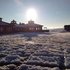First snow in Kaunispää (01) | saariselka.com, #kaunispää #saariselkä #saariselkabooking #ensilumi #firstsnow #kaunispaa #saariselankeskusvaraamo
