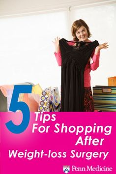 Lost weight? Update your wardrobe with these tips for shopping.
