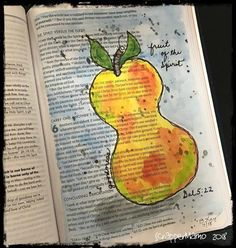 Galatians - Fruit of the Spirit My Bible, Bible Art, Galatians 5 22, Fruit Of The Spirit, Daughters Of The King, Illustrated Faith, In The Flesh, Hand Lettering, My Arts