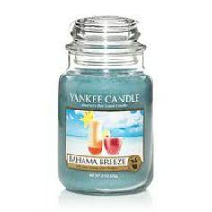 Yankee Candle  Bahama Breeze Housewarmer Jar.