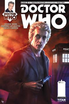Doctor Who: The Twelfth Doctor Year Two #7 Cover A - Alex Ronald