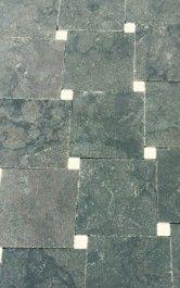 Old Amsterdam hardsteen en marmer dambord vloer 15x15x2